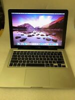 "Apple Macbook 13"" / Intel i5  2.3GHZ / 8GB RAM / 256GB HD. A1278.1 YEAR WARRANTY"