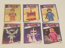 Lego Movie 2 Awesome Trading Card lotA 02 04 14 19 25 34 Benny Lenny Mayhem foil