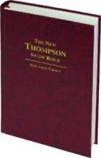 KJV - The New Thompson Study Bible, Burgundy, Hardback, New & Sealed