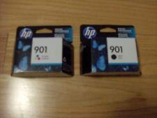 2017 GENUINE HP 901 BLACK/COLOR CARTRIDGES J4540 J4680 4500 FACTORY SEALED