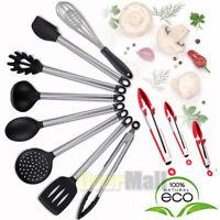 3/8Pcs Nonstick Gray Cooking Kitchen gadget Utensils Set of Ladle, spoon, pasta