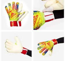 ADIDAS CLASSIC PRO GC GK GLOVES SOLAR YELLOW RED BLUE SIZE 8