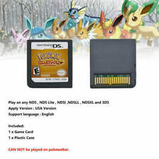 Pokemon: Heart Gold Heartgold Version (Nintendo DS, 3DS) Game Card Cartridge US