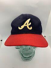Atlanta Braves MLB Signatures Snapback Hat Adjustable Baseball Cap