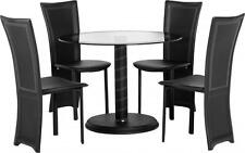 Dining Room Glass Up to 4 Table & Chair Sets