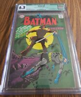 Batman 189 CQC Qualified 6.5 Off-White Pages 1967 1st Silver Age Scarecrow