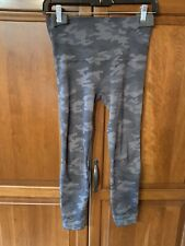 Spanx Camoflage Leggings Black Grey Size S $90 New