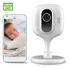 Zencam Wifi Camera 1080P Indoor Baby Pet Cam Wireless IP Security E2W White