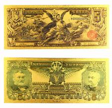 """★★ BILLET POLYMER  """" OR """" DU 5 DOLLARS 1896 USA ● DESTOCKAGE ★"""