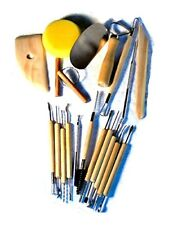 NEW 19 Pc Pottery & Clay Sculpture Modeling Tools FREE SHIPPING