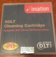 Imation SDLT Cleaning Cartridge For Super DLT Tape 51122 16332