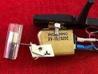 Pickering XV15 - 625 Phono Cartridge - new headshell, stylus, functional