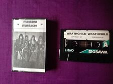 Wrathchild - Mascara Massacre Demo cassette tape 1982. Glam Metal/ NWOBHM