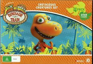 Jim Henson's Dinosaur Train Cretaceous Creatures Set (4 DVD Set) - Region 4