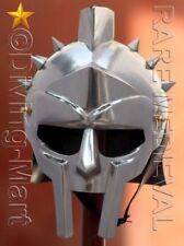 Medieval Helmet of the Spaniard Maximus Roman Gladiator 18 Gauge