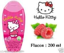 UN GEL DOUCHE HELLO KITTY 200 ML GEL DE BAIN FRAMBOISE