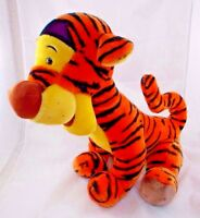 "Disney TIGGER Plush Winnie the Pooh Sits 17"" Tall Brown Nose"