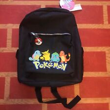 Pokemon Vintage Backpack 1999 Nwt Bag Pikachu Ash Nintendo Card Detective Rare