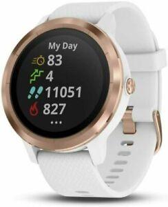 Garmin vívoactive 3 GPS Smartwatch - White/Rose Gold