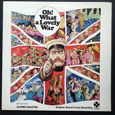Alfred Ralston Richard Attenborough's OH! WHAT A LOVELY WAR soundtrack LP '69 UK