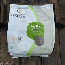 Argiletz Grüne Tonerde 1 kg extrafein  (15,95€ / 1000g)