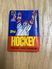 1986 Topps Hockey Pack