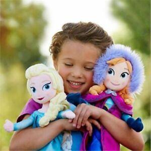 50CM 2PCS Disney Princess Elsa&Anna Plush toys Stuffed Plush Doll Toy Gift  uk