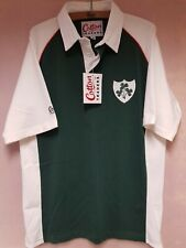 Cotton Traders Ireland Rugby Shirt Top Short Sleeve Medium New