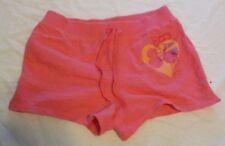 Gap Kids Shorts Size XL 12 Heart 86 Knit Wide Band Elastic Waist Tie Pink