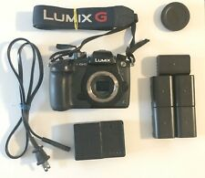 Panasonic LUMIX GH5 20.3 MP Mirrorless Camera with accessories