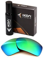 Polarized IKON Replacement Lenses For Von Zipper Papa G Sunglasses Green Mirror