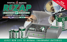REZAP BATTERY DOCTOR - Gives New Lease of Life For SINGLE USE ALKALINE BATTERIES