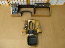 95-97 Chevy S10 Blazer Timberline By Starcraft Woodgrain Complete Bezel Trim Set