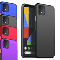 For Google Pixel 4 Case - Clip On Slim Hard Case Thin Hybrid Matte Cover