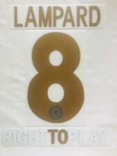 2010/11 CHELSEA LAMPARD TORRES CHAMPIONS LEAGUE  HOME SOCCER NAME SET SPONSOR