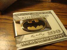 BATMAN LOGO Image design Embossed Metal Stainless Steel-Metal Money Clip