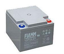Batteria al piombo ricaricabile FIAMM 12 V 27 A 12FGL27