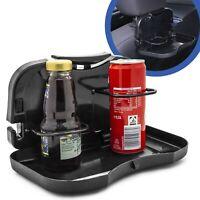 Auto Rück Sitz Getränke Halter Klapp Tisch Dosen Becher Tablett Halterung