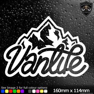 Vanlife Van Sticker Window Bumper Car Decal VW DUB Surf T4 T5 Camper Funny