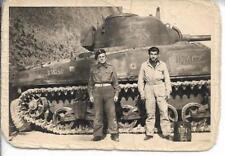 WW2 WWII POLISH POLAND ARMY PHOTO 2nd Warszawski Armoured Division TANKERS TANK