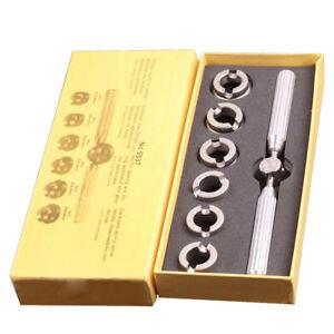 Back Case Opener For Rolex For Tudor Watch Repair Tool Kit Silver Metal