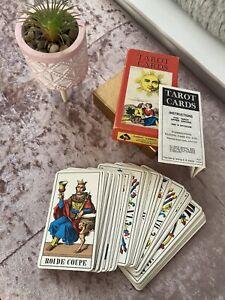 Vintage c 1970's 1JJ Swiss Tarot Cards