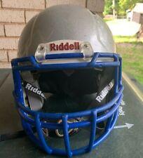 Riddell Youth medium Metallic Silver football helmet