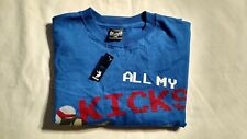 All My Kicks Fly Like Liu Kang Mortal Combat Adult T - Size Large
