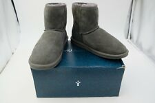 EMU Australia Women's Stinger Mini Boot Charcoal Size 8 Used