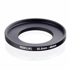 RISE(UK) 30.5mm-46mm 30.5-46 mm 30.5 to 46 Step Up Ring Filter Adapter black
