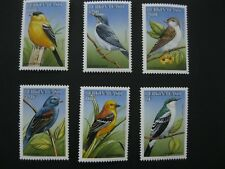 Burkina Faso 1998  birds SCOTT No.1098-1103  I201807