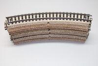 Märklin 5100 10 Sück gebogenes Gleis M-Gleis Spur H0