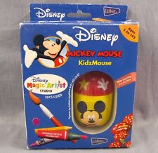 Mickey Mouse Computer Mouse Walt Disney Magic Artist KidzMouse 2003 USB