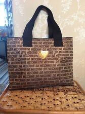 MOSCHINO grande monogramma Tote Bag